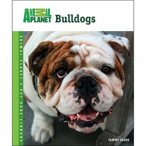 . Animal Planet Bulldogs Book New